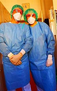 Bild: Zwei Krankenpfleger vom Nordklinikum Nürnberg