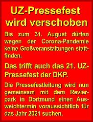 Banner: UZ-Pressefest wird verschoben!