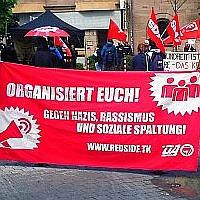 Bild: Nürnberg - 1. Mai: Trotz Pandemie auf der Straße