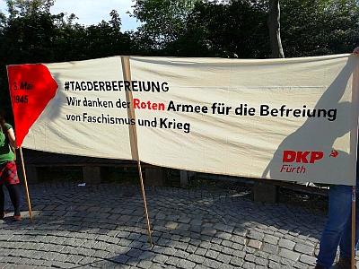 75. Jahrestag des 8. Mai 1945 in Fürth