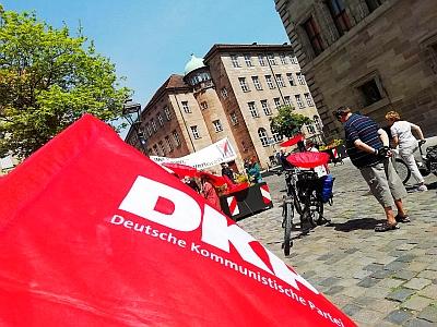 75. Jahrestag des 8. Mai 1945 in Nürnberg