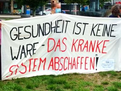 Bild zur Kundgebung: Kommt zur Kundgebung! Samstag, 18. Juli 2020 14.15 Uhr Klinikum Nord Nürnberg Haupteingang