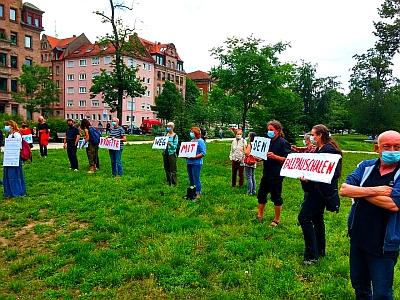 Photo: Kundgebung zur Abschaffung der Fallpauschalen