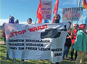 Bild: Stop wars - Bild: Frieden mit china und Russland - NATO, USA und Deutschland Jetzt atomar abrüsten!