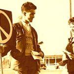 Bild: Der erste Ostermarsch : Aldermaston March 1958