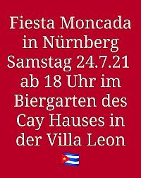 Banner zu: Nürnberg, Samstag, 24.Juli - Fiesta Moncada 2021
