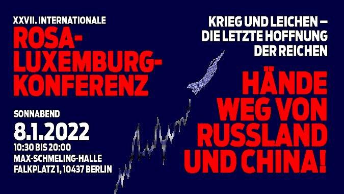 Slider: XXVII. Rosa-Luxemburg-Konferenz